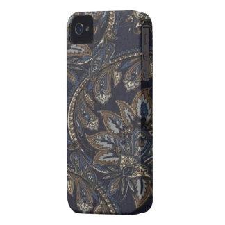 Paisley-Denim-Druck-BlackBerry mutiges 9700/9780 iPhone 4 Cover