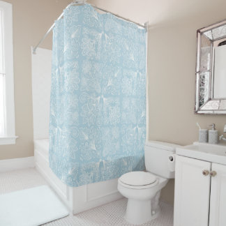 Paisley-Entwurf Duschvorhang