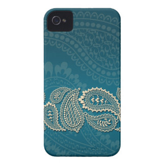 Paisley-Grenze iPhone 4 Cover