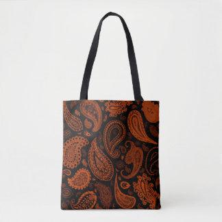 Paisley in der Rost-Designer-Tasche durch Julie Tasche
