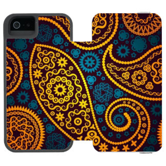 Paisley Incipio Watson™ iPhone 5 Geldbörsen Hülle