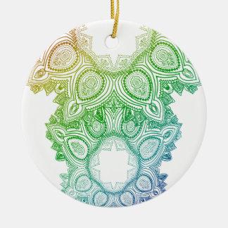 Paisley Keramik Ornament