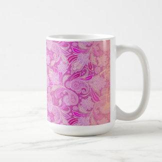 Paisley-Leidenschaft Kaffeetasse