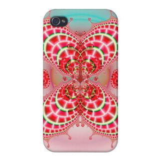 Paisley-Melone-Mischen iPhone 4 Schutzhülle