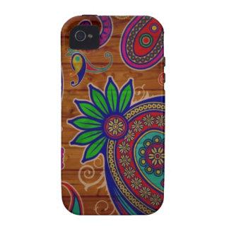 Paisley-Muster iPhone 4/4S Hüllen
