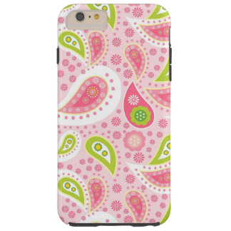 Paisley-Muster iPhone 6 starker Plusfall Tough iPhone 6 Plus Hülle