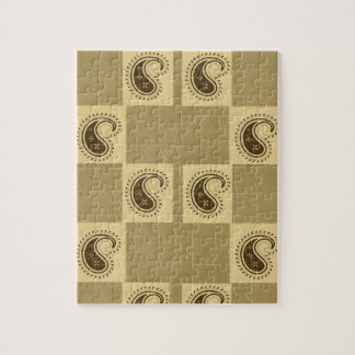 Paisley-Muster Puzzle