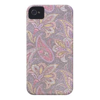 Paisley und Blumen iPhone 4 Case-Mate Hülle