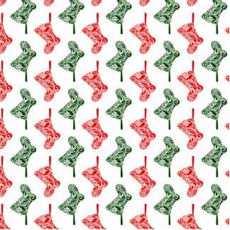 Paisley-WeihnachtsStrümpfe Fotoskulptur Ornament