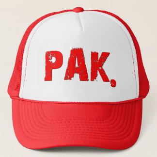 PAK. Logo-Hut Truckerkappe