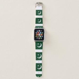Pakistan-Flagge Apple Watch Armband