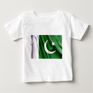Pakistan-Flagge Baby T-shirt