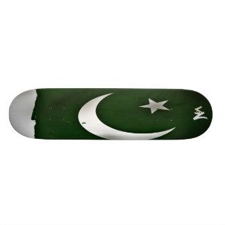 Pakistan-Flagge Individuelles Skateboard
