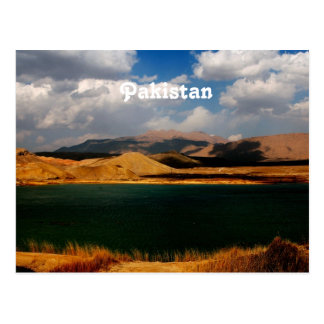 Pakistan-Landschaft Postkarte