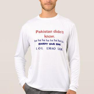 Pakistan wusste nicht t-shirt
