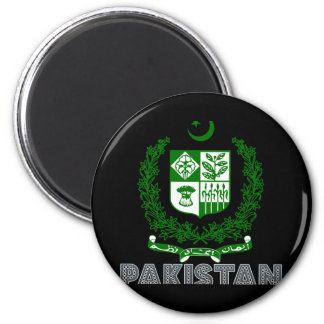 Pakistanisches Emblem Runder Magnet 5,1 Cm