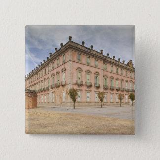 Palacio Real de Riofrio Quadratischer Button 5,1 Cm