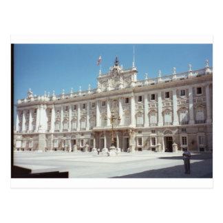 Palacio wirklich, Madrid Postkarte