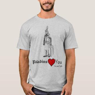 Paladin-Liebe Sie für Ihr Licht T-Shirt