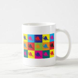 Paläontologie-Pop-Kunst Kaffeetasse