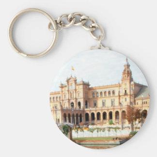 Palast auf dem Fluss Schlüsselanhänger