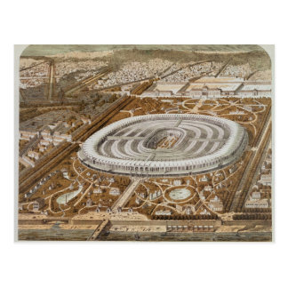 Palast der universellen Ausstellung Postkarte