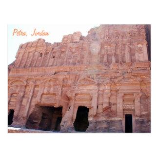 Palast-Gräber PETRA Jordanien Postkarte