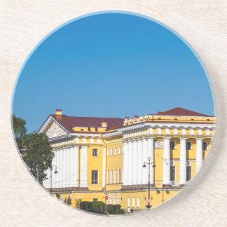 Palast quadratisches St Petersburg Russland Untersetzer