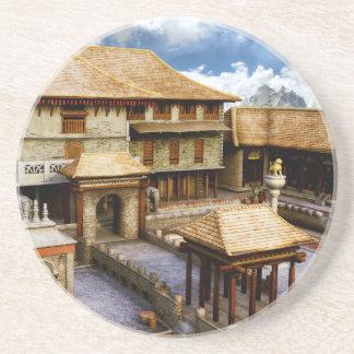 Palast Sandstein Untersetzer