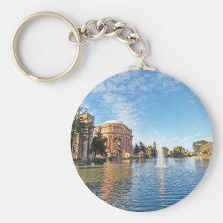 Palast Sans Fransisco von schönen Künsten Schlüsselanhänger