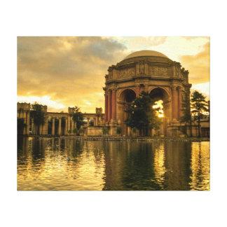 Palast von schönen Künsten Leinwanddruck