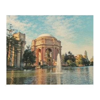 Palast von schönen Künsten - San Francisco Holzdruck