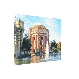 Palast von schönen Künsten - San Francisco Leinwanddruck