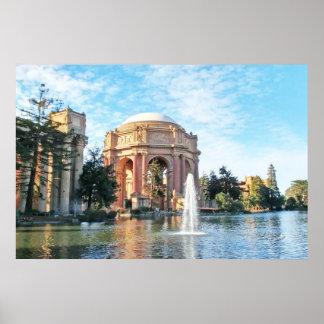 Palast von schönen Künsten - San Francisco Poster