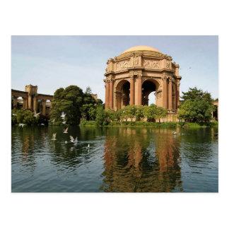 Palast von schönen Künsten, San Francisco Postkarte