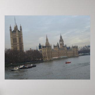 Palast von Westminster Poster