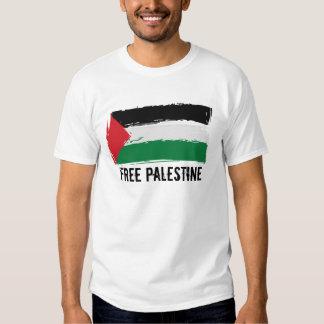 Palästina-Flaggen-Bürsten-Kunst - freies Palästina T-shirt