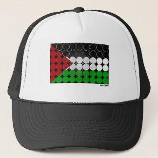 Palästina-Flaggen-Kreis 2 Truckerkappe
