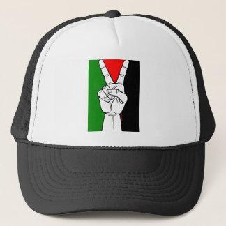 Palästina-Friedensflagge Truckerkappe
