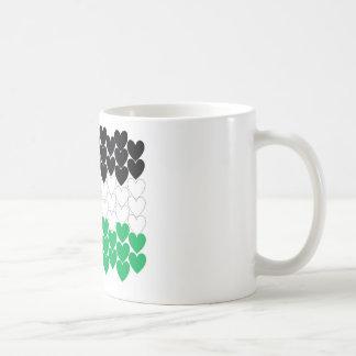 Palästina-Herzen Kaffeetasse