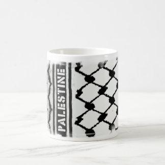 Palästina Keffiyah Kaffeetasse
