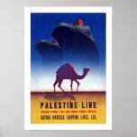 Palästina-Linie Plakatdrucke