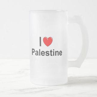 Palästina Mattglas Bierglas