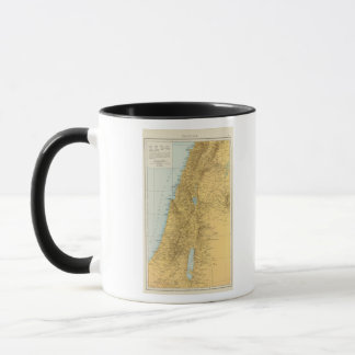 Palastina - Palästina-Atlas-Karte Tasse