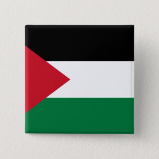 Palästina, Palau kennzeichnen Quadratischer Button 5,1 Cm