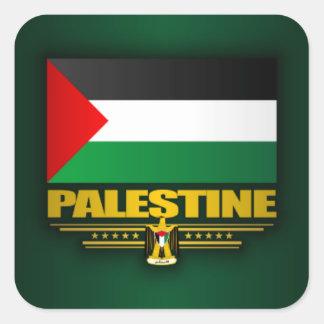 Palästina Quadratischer Aufkleber