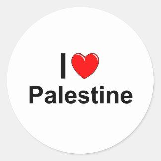 Palästina Runder Aufkleber