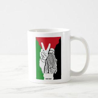 Palästina-Sieg-Flagge Kaffeetasse