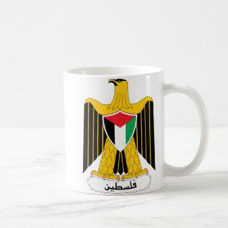 Palästina-Wappen Kaffeetasse