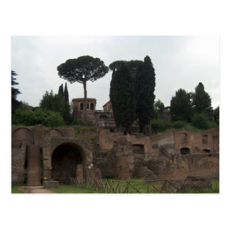 Palatine-Hügel in Rom, Italien Postkarte